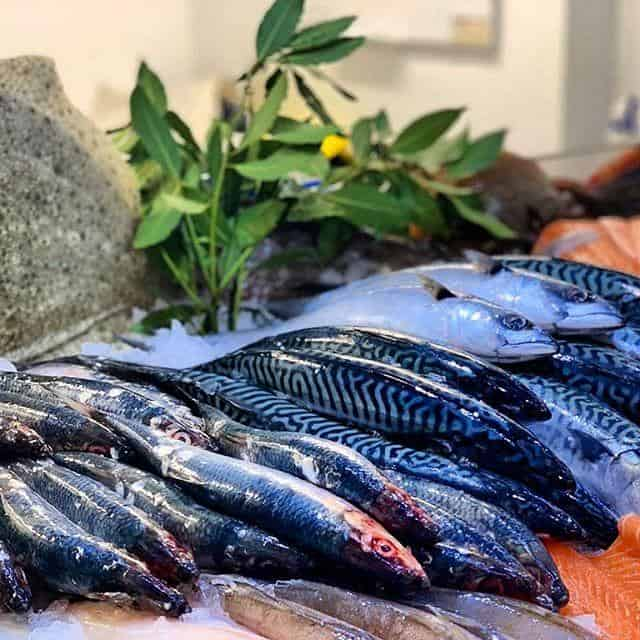 Fresh and frozen fish from Priory Farm Shop