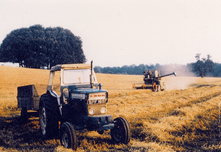 The last harvest in 1969
