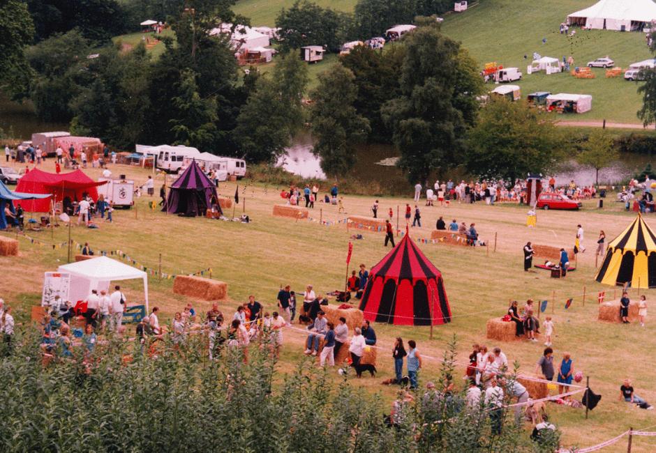 Strawberry Fayre in 1999.
