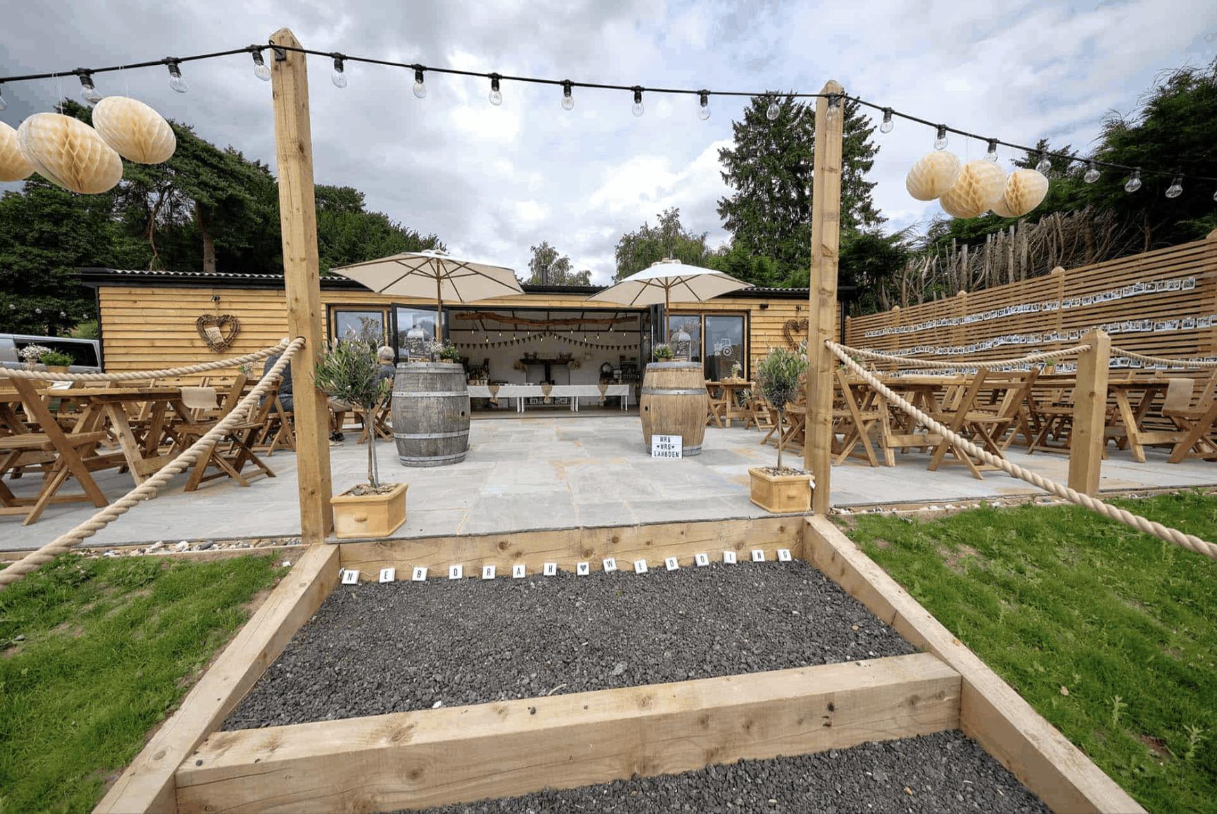 Priory Farm Lambing Barn